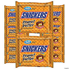 Bulk Snickers Peanut Butter Squared Fun Size - 12 Bags