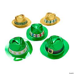 Bulk St. Patrick's Day Fedora Hat Assortment