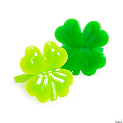Bulk St. Patrick's Day Shamrock Rings - 144 Pc.