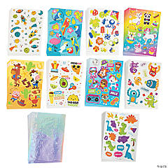 Bulk Sticker Sheet Assortment - 240 Pc.