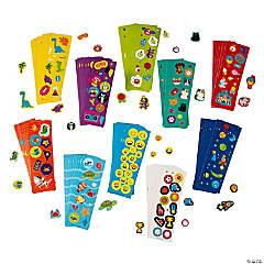 Bulk Sticker Sheet Assortment
