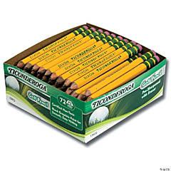 Bulk Ticonderoga® Golf Pencils, Box of 72