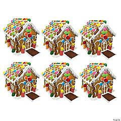 Bulk Tootsie Roll<sup>®</sup> Gingerbread House Kits
