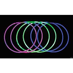 Bulk Tri-Color & Solid Glow Necklace Assortment - 100 Pc.