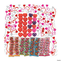 Bulk Valentine Sticky Toy Assortment