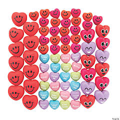 Bulk Valentine Stress Toy Assortment - 72 Pc.
