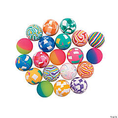 Bulk Vending Assorted Bouncing Balls - 45mm