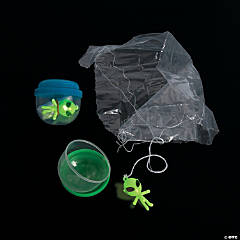 Bulk Vending Machine Capsules with Glow-in-the-Dark Paratrooper Aliens - 2