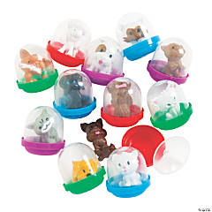 Bulk Vending Machine Capsules with Paw Pal Character Toys - 1.1