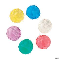 Bulk Vending Machine Diamond Bouncing Balls - 25mm