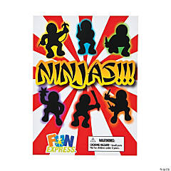 Bulk Vending Machine Display Cards Ninja Toys