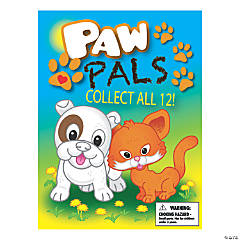 Bulk Vending Machine Display Cards Paw Pals