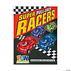 Bulk Vending Machine Display Cards Pullback Race Cars