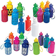 Bulk Water Bottle Assortment