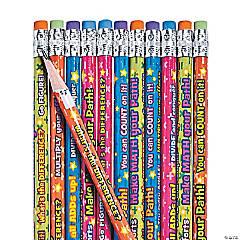 Bulk Wooden Math Pencil Assortment - 144 Pc.