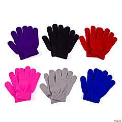 Bulk Youth's Stretchy Knit Gloves