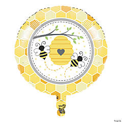 Bumblebee Party Mylar Balloon
