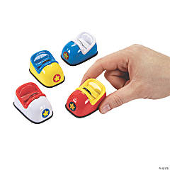 Bumper Car Pull-Back Toys