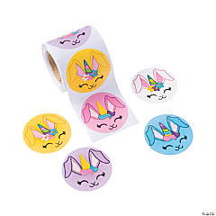 Bunnicorn Sticker Rolls