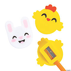 Bunny & Chick Easter Pencil Sharpeners