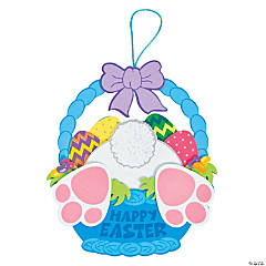 Bunny Bottom Sign Craft Kit