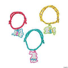 Bunny Charm Rope Bracelets