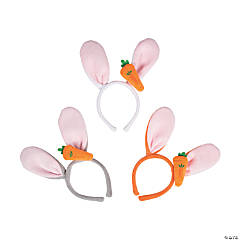Bunny Ears with Carrot Headband