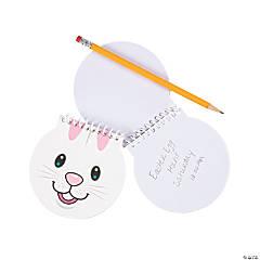 Bunny Face Spiral Notepads