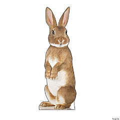 Bunny Rabbit Cardboard Stand-Up