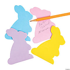 Bunny-Shaped Sticky Notes