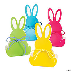 Bunny-Shaped Treat Boxes