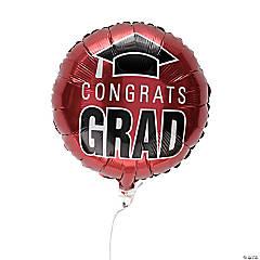 Burgundy Congrats Grad 18