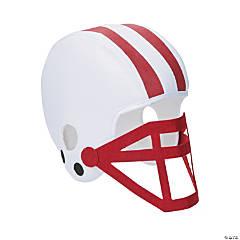 Burgundy Team Spirit Football Helmet