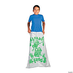 Burlap Leap Frog Potato Sack Race Bag