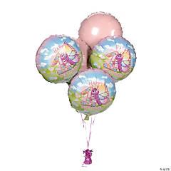 Butterfly 1st Birthday Mylar Balloon