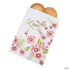 Butterfly Floral Treat Bags
