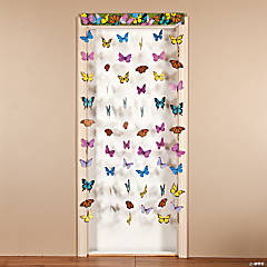 BUTTERFLY HANGING DOORWAY CURTAIN
