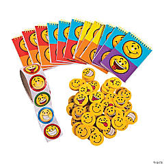 Buy All & Save Smile Face Stationery