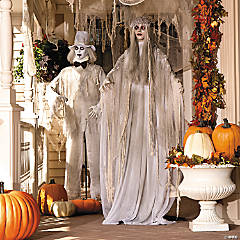 Buy Both & Save - Mr. & Mrs. Rot Halloween Decorations