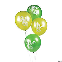 "Cactus 12"" Latex Balloons"