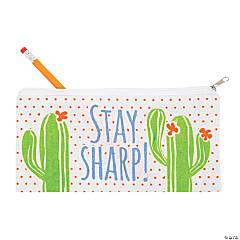 Cactus Canvas Pencil Cases
