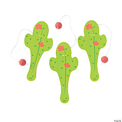 Cactus Paddle Ball Games
