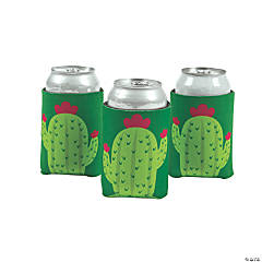 Cactus Shaped Can Sleeves