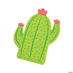 Cactus-Shaped Luncheon Napkins
