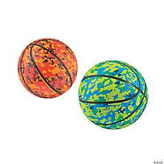 Camo Print Basketballs