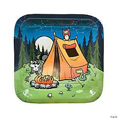 Camp Adventure Paper Dinner Plates - 8 Ct.