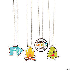 Camp Dog Tag Necklaces