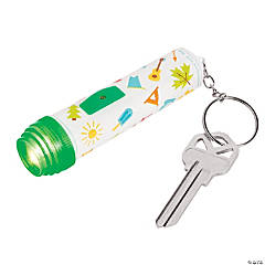 Camp Flashlight Keychains