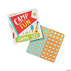 Camp Fun 3-In-1 Game Sets