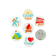 Camp Mini Buttons
